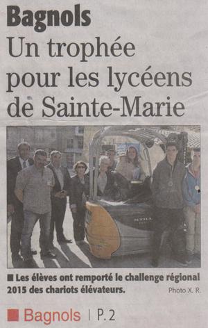 28-05-2015-Bagnols-un-trophée-pour-les-lycéens-de-Sainte-Marie