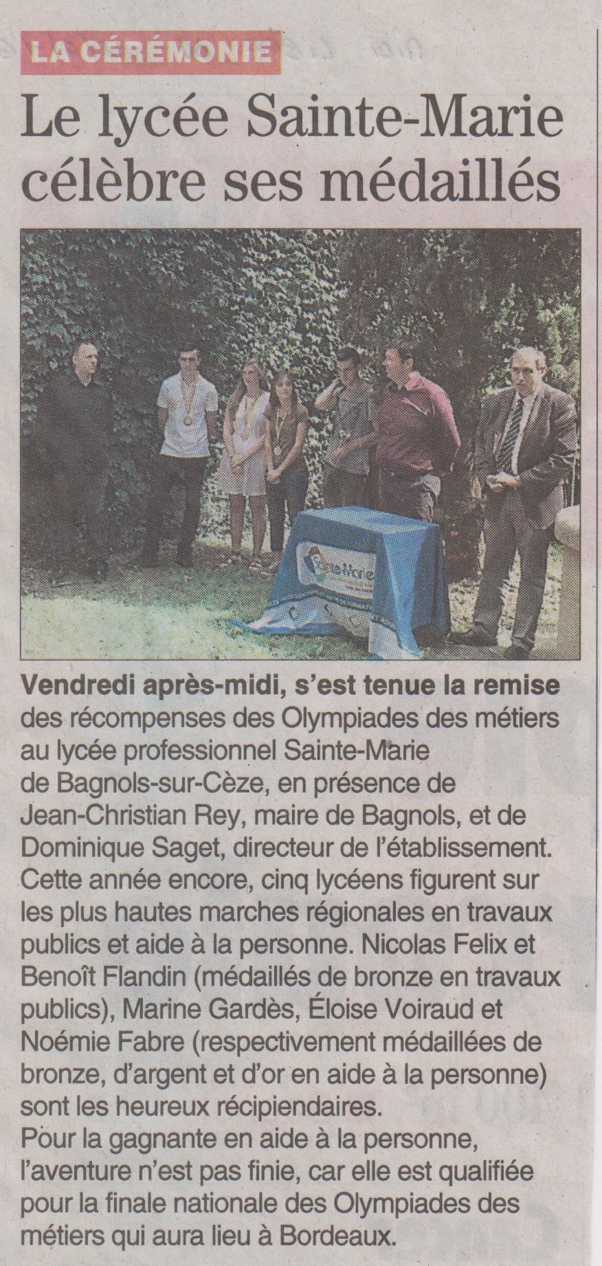 Le-Lycée-Sainte-Marie-célèbre-ses-médaillés