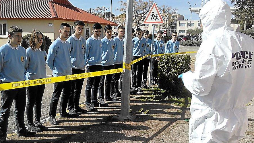 Gard - la police scientifique suscite des vocations auprès des lycéens